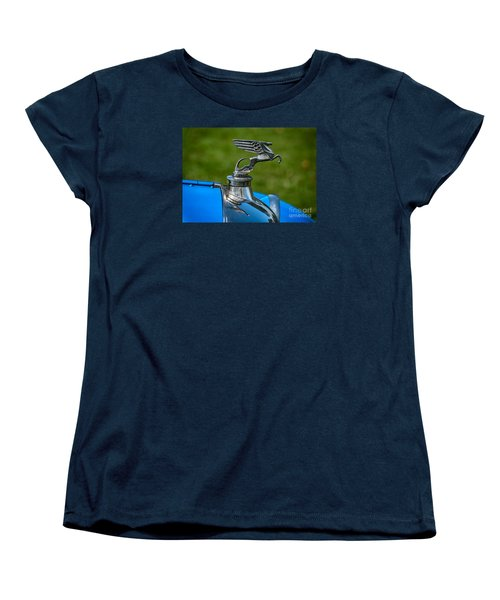 Amilcar Pegasus Emblem Women's T-Shirt (Standard Cut) by Adrian Evans