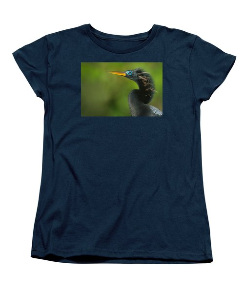 Anhinga Anhinga Anhinga, Tortuguero Women's T-Shirt (Standard Cut) by Panoramic Images