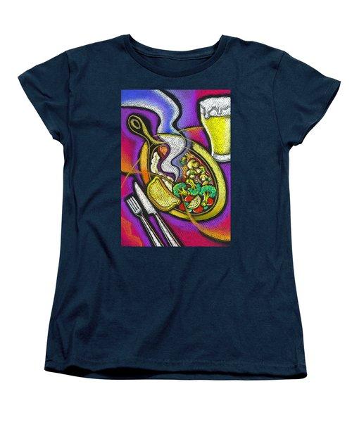 Appetizing Dinner Women's T-Shirt (Standard Cut) by Leon Zernitsky