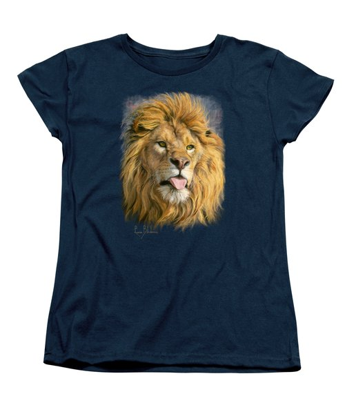 Silly Face Women's T-Shirt (Standard Cut) by Lucie Bilodeau