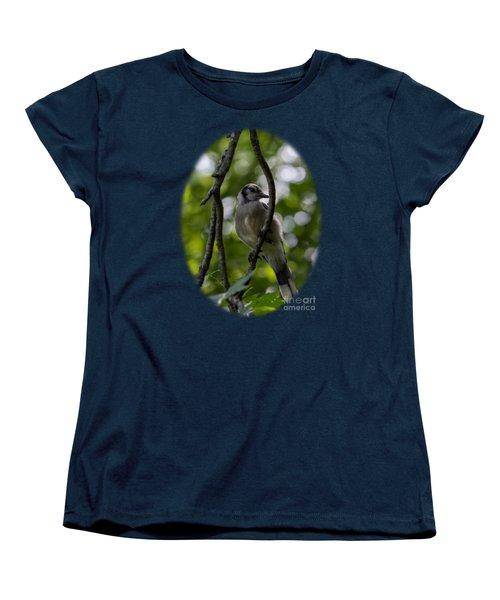 Afternoon Perch Women's T-Shirt (Standard Cut) by Brian Manfra