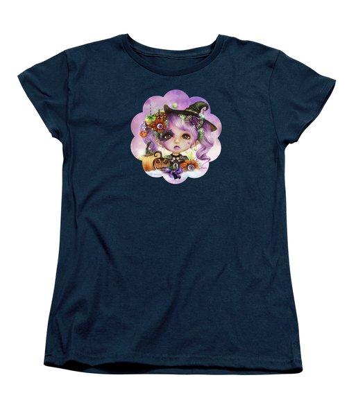 Halloween Hannah - Munchkinz Character  Women's T-Shirt (Standard Cut) by Sheena Pike