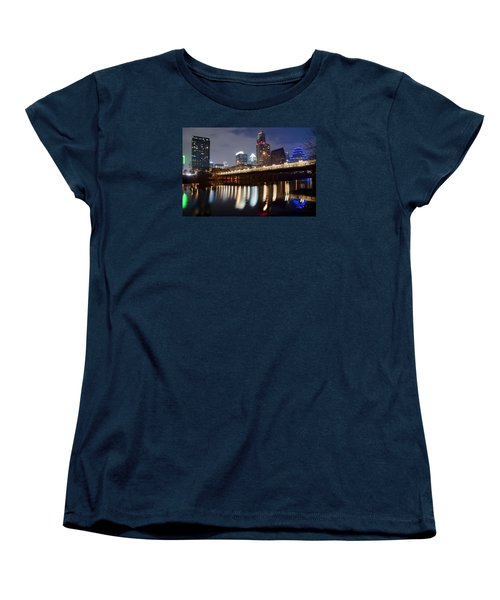 Austin From Below Women's T-Shirt (Standard Cut) by Frozen in Time Fine Art Photography