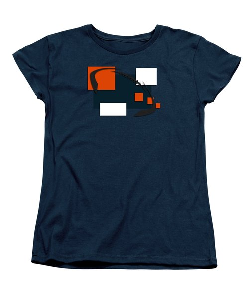 Bears Abstract Shirt Women's T-Shirt (Standard Cut) by Joe Hamilton