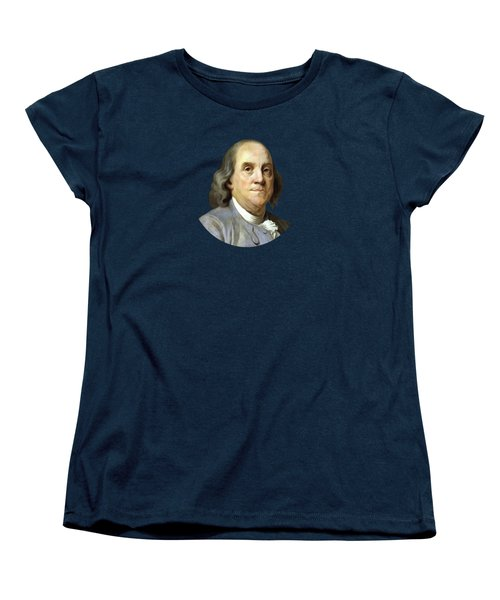 Benjamin Franklin Women's T-Shirt (Standard Cut) by War Is Hell Store