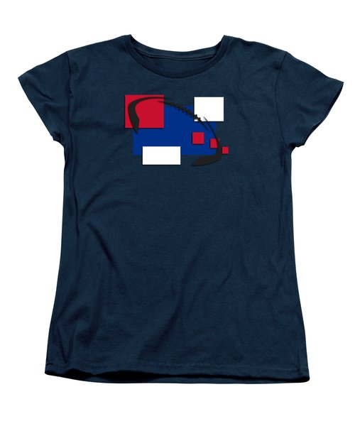 Bills Abstract Shirt Women's T-Shirt (Standard Cut) by Joe Hamilton