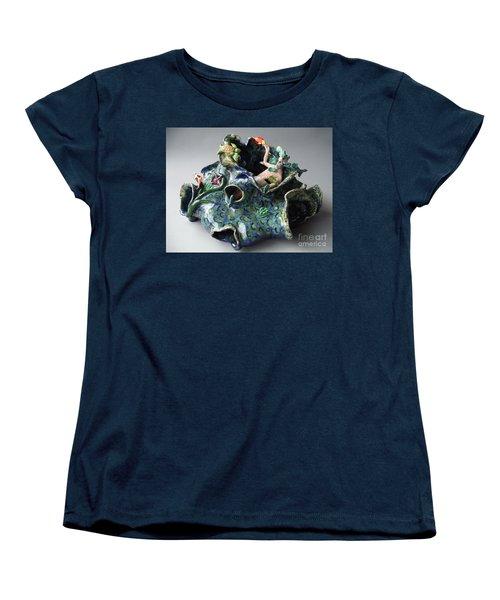 Bin Laden Became Fish Food Women's T-Shirt (Standard Cut) by Paddy Shaffer