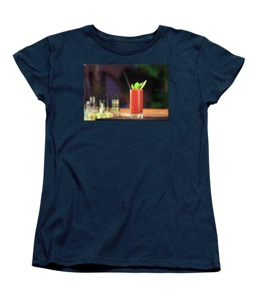 Bloody Mary Forever Women's T-Shirt (Standard Cut) by Ekaterina Molchanova