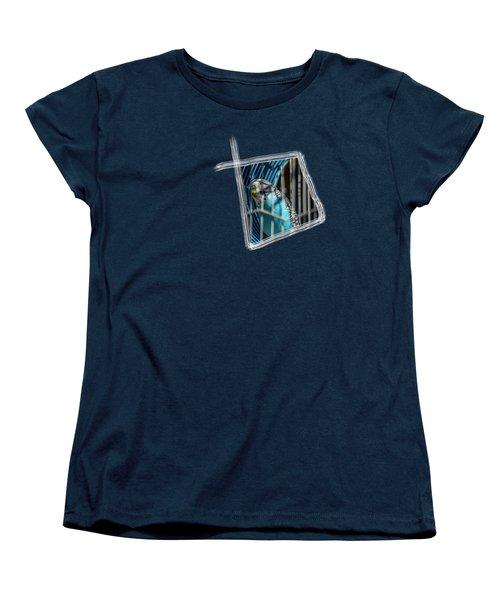 Blue Bird Women's T-Shirt (Standard Cut) by Aissa Belbaz