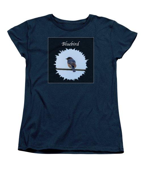 Bluebird Women's T-Shirt (Standard Cut) by Jan M Holden