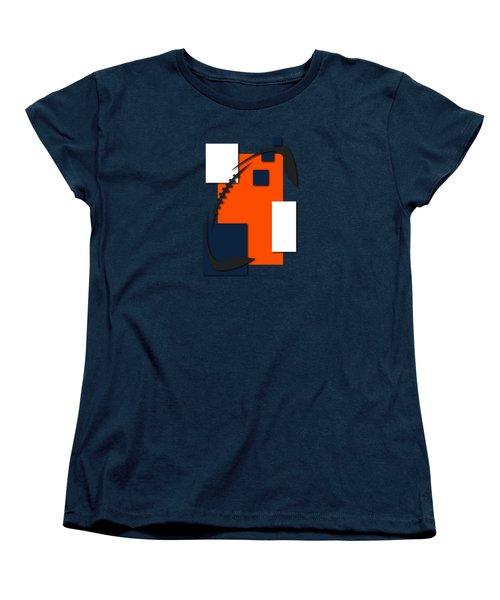 Broncos Abstract Shirt Women's T-Shirt (Standard Cut) by Joe Hamilton