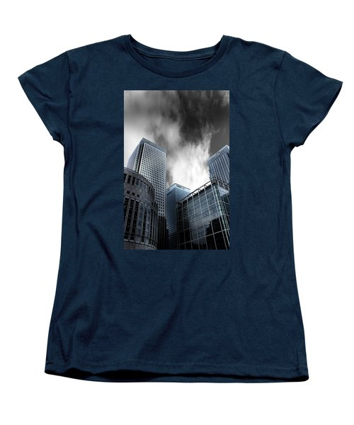 Canary Wharf Women's T-Shirt (Standard Cut) by Martin Newman