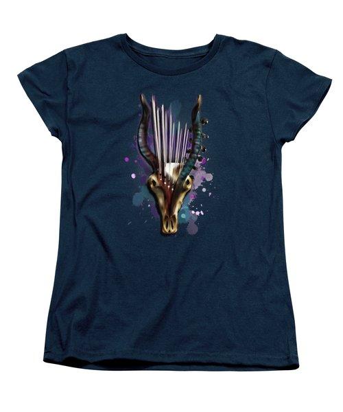 Capricorn Women's T-Shirt (Standard Cut) by Melanie D