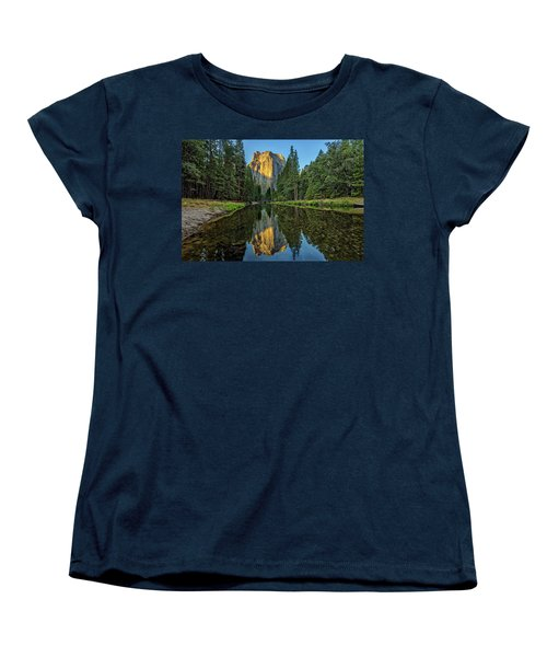 Cathedral Rocks Morning Women's T-Shirt (Standard Cut) by Peter Tellone