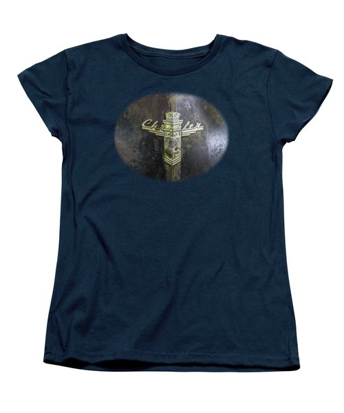 Chrysler Hood Ornament Women's T-Shirt (Standard Cut) by Debra and Dave Vanderlaan