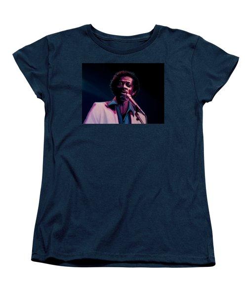 Chuck Berry Women's T-Shirt (Standard Cut) by Paul Meijering