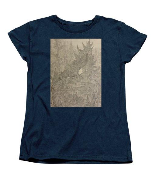 Coastal Castle Women's T-Shirt (Standard Cut) by Corbin Cox