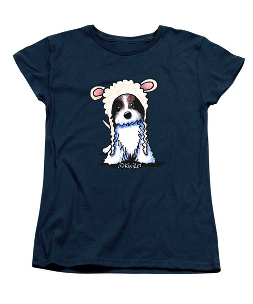 Coton De Tulear Women's T-Shirt (Standard Cut) by Kim Niles