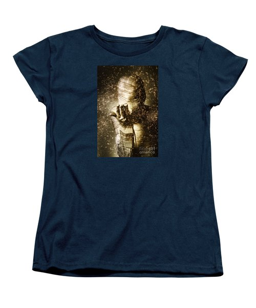 Curse Of The Mummy Women's T-Shirt (Standard Cut) by Jorgo Photography - Wall Art Gallery