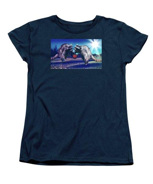 Defense Women's T-Shirt (Standard Cut) by Jonny Lindner