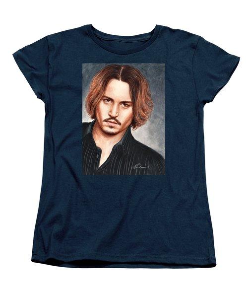 Depp Women's T-Shirt (Standard Cut) by Bruce Lennon