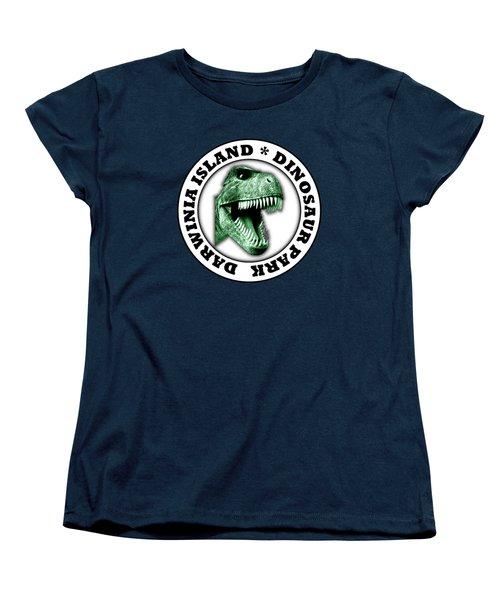 Dinosaur Park Women's T-Shirt (Standard Cut) by Gaspar Avila