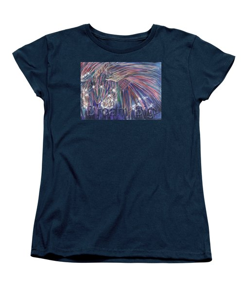 Dream Big Women's T-Shirt (Standard Cut) by Thomas Lupari