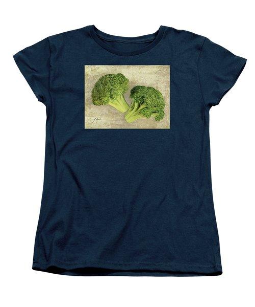 Due Broccoletti Women's T-Shirt (Standard Cut) by Guido Borelli