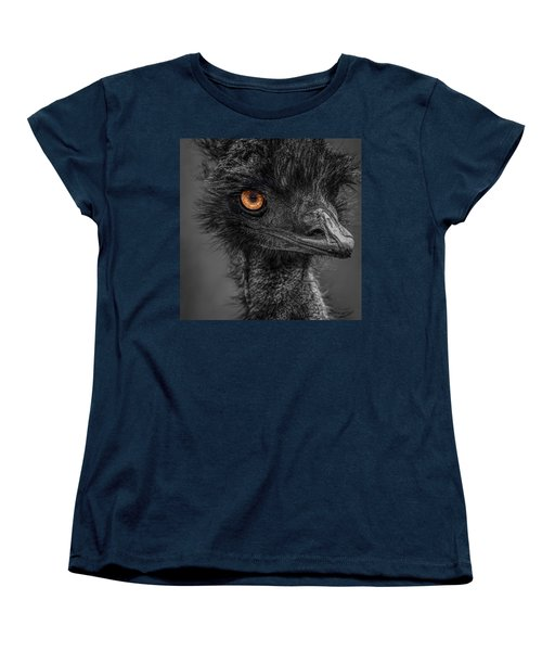 Emu Women's T-Shirt (Standard Cut) by Paul Freidlund