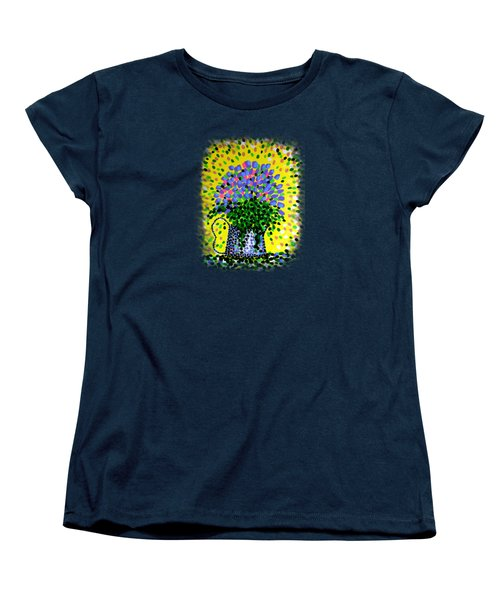 Explosive Flowers Women's T-Shirt (Standard Cut) by Alan Hogan