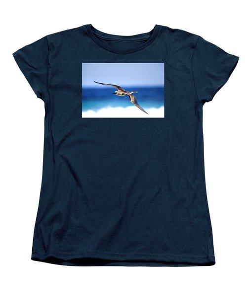 Eye Contact Women's T-Shirt (Standard Cut) by Sean Davey
