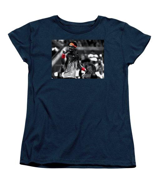 Fabio Fognini Women's T-Shirt (Standard Cut) by Brian Reaves