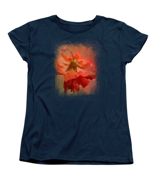 Falling Blossom Women's T-Shirt (Standard Cut) by Jai Johnson