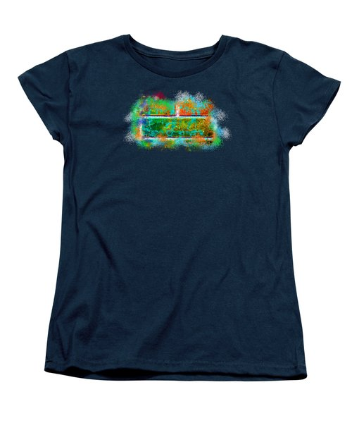 Forgive Brick Orange Tshirt Women's T-Shirt (Standard Cut) by Tamara Kulish