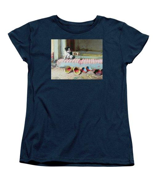 Friend Or Foe Women's T-Shirt (Standard Cut) by William Henry Hamilton Trood