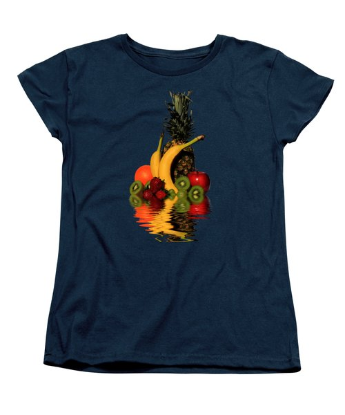 Fruity Reflections - Dark Women's T-Shirt (Standard Cut) by Shane Bechler