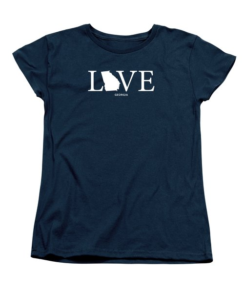 Ga Love Women's T-Shirt (Standard Cut) by Nancy Ingersoll