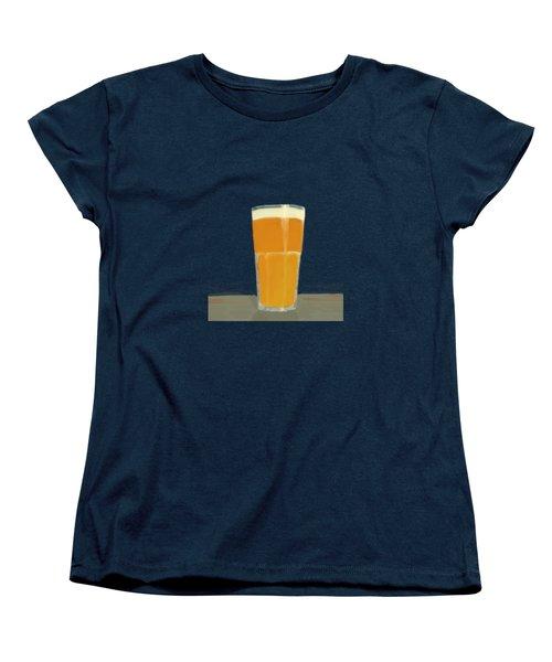 Glass Full Of.. Women's T-Shirt (Standard Cut) by Keshava Shukla