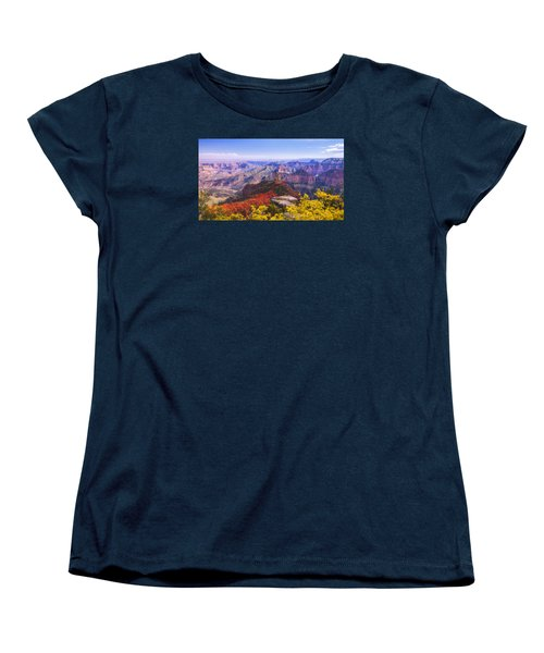 Grand Arizona Women's T-Shirt (Standard Cut) by Chad Dutson