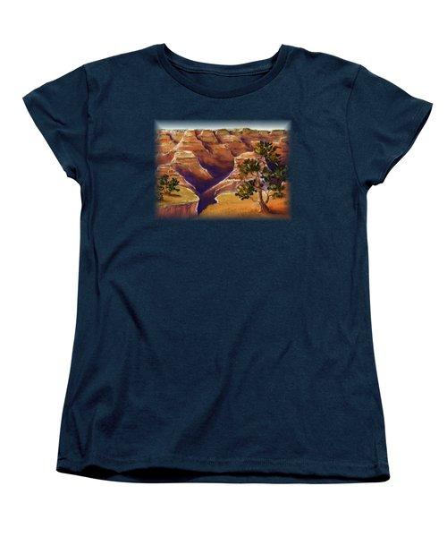 Grand Canyon Women's T-Shirt (Standard Cut) by Anastasiya Malakhova