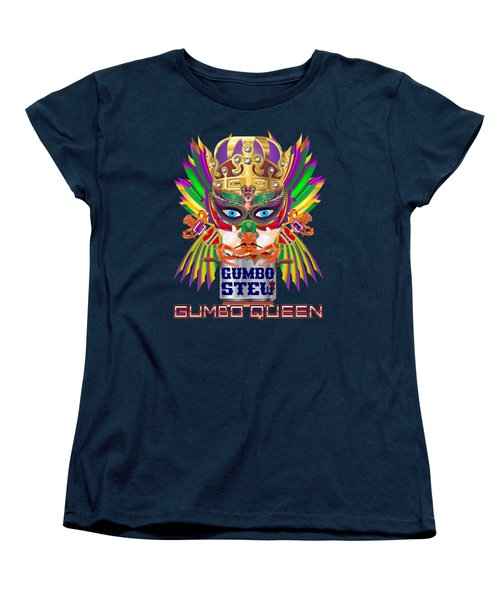Gumbo Queen 1 All Products  Women's T-Shirt (Standard Cut) by Bill Campitelle