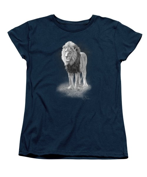 In His Prime - Black And White Women's T-Shirt (Standard Cut) by Lucie Bilodeau