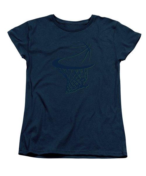 Jazz Basketball Hoop Women's T-Shirt (Standard Cut) by Joe Hamilton