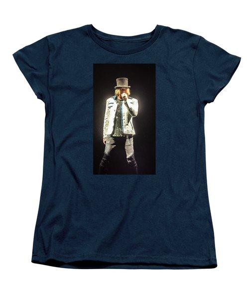 Joe Elliott Women's T-Shirt (Standard Cut) by Luisa Gatti