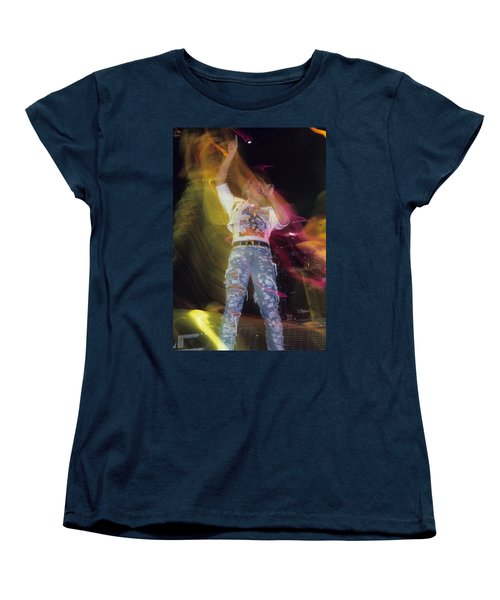 Joe Elliott Women's T-Shirt (Standard Cut) by Rich Fuscia