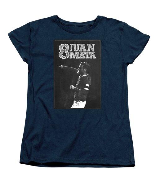 Juan Mata Women's T-Shirt (Standard Cut) by Semih Yurdabak