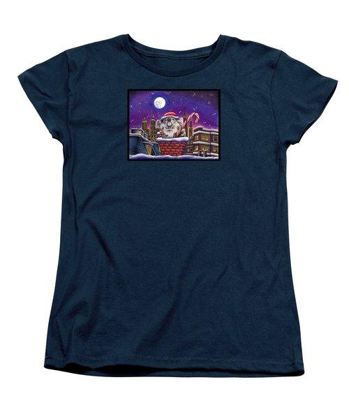 Koala In Chimney Women's T-Shirt (Standard Cut) by Remrov