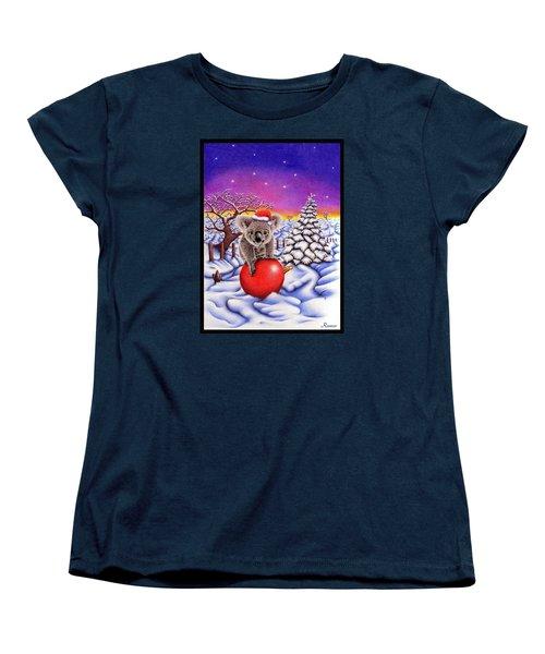 Koala On Ball Women's T-Shirt (Standard Cut) by Remrov