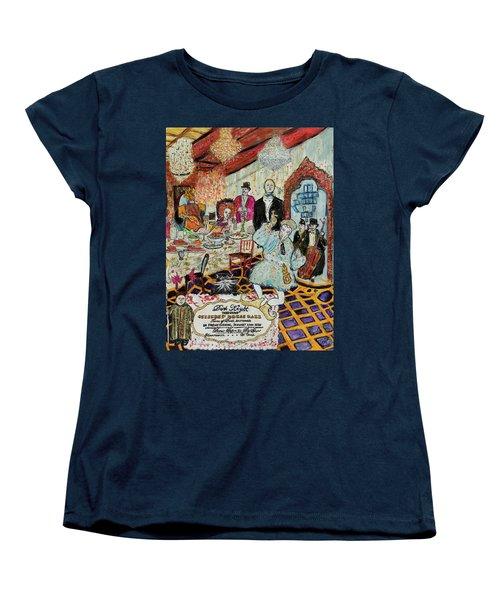 Last Supper, Dark Knight Women's T-Shirt (Standard Cut) by Lindsay Strubbe