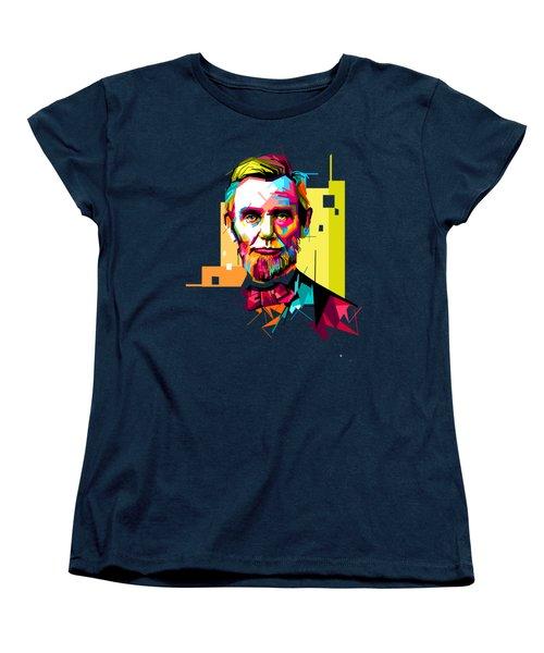 Lincoln Women's T-Shirt (Standard Cut) by Iffa Baskaragris